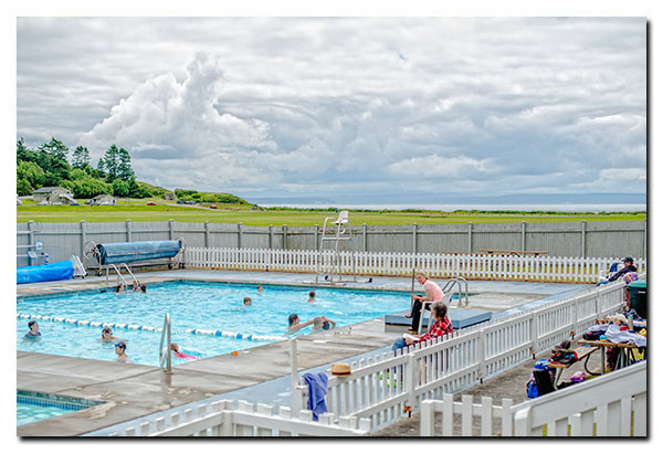 Pool at Fort Casey