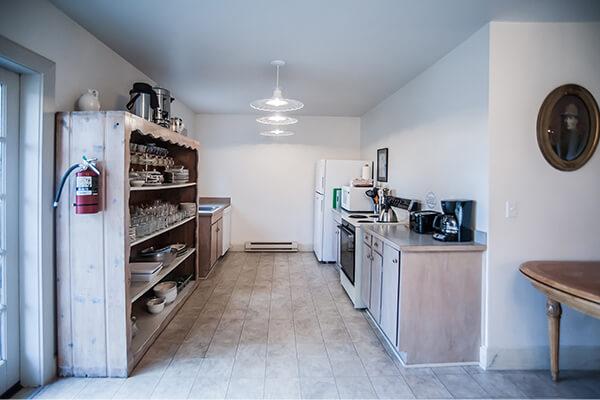 Garrison Hall kitchen