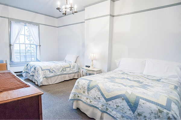 Unit 8 east bedroom